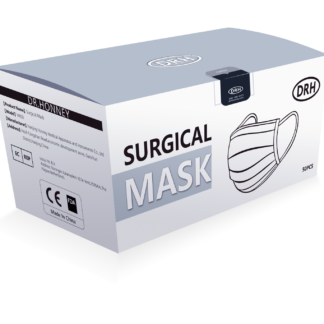 DRH Medical mask 50 pack CE FDA